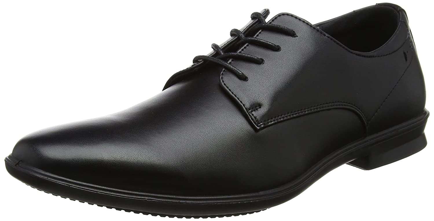 TALLA 42 EU. Hush Puppies Cale Plain Toe, Zapatos de Cordones Oxford para Hombre