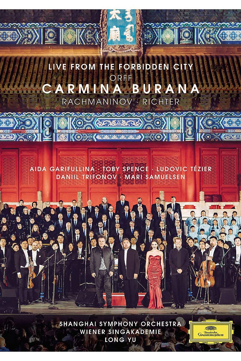 DVD : VARIOUS - Orff: Carmina (live From The Forbidden City) (DVD)