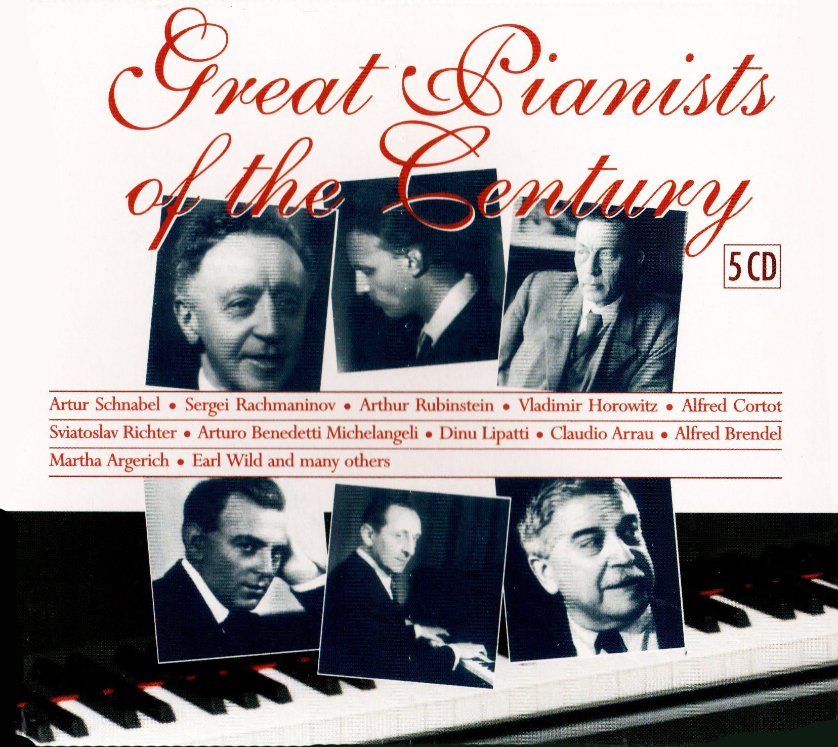Great Pianists of the Century by Brilliant Classics