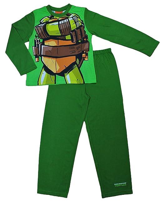 Disfraz de Teenage Mutant Ninja Turtles pijama 3 A 8 años ...