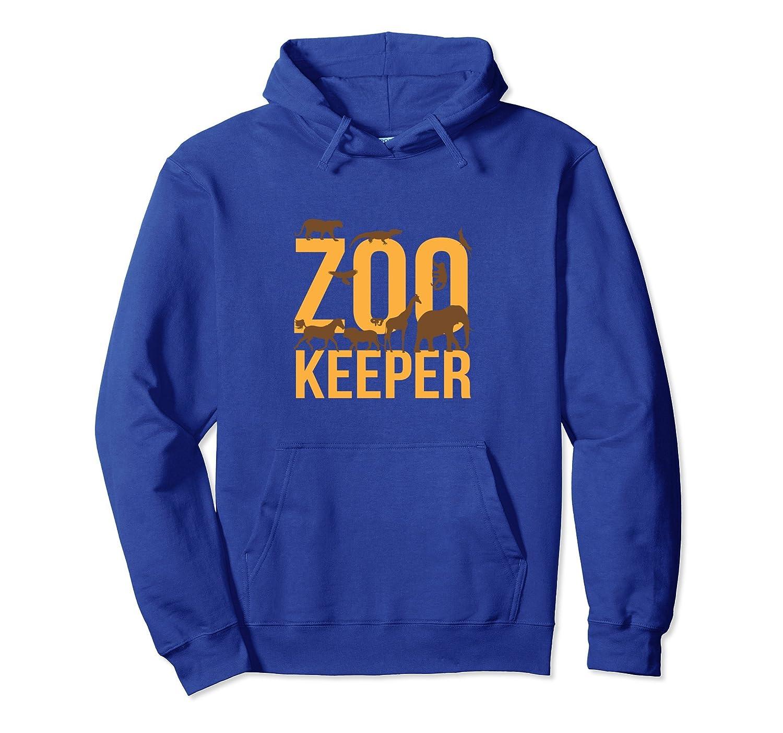Zoo Keeper Wildlife Africa Hoodie-ln