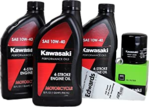 2013 Kawasaki NINJA 650 Oil Change Kit