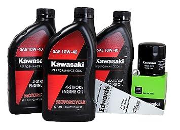 2009 Kawasaki NINJA 650R Oil Change Kit