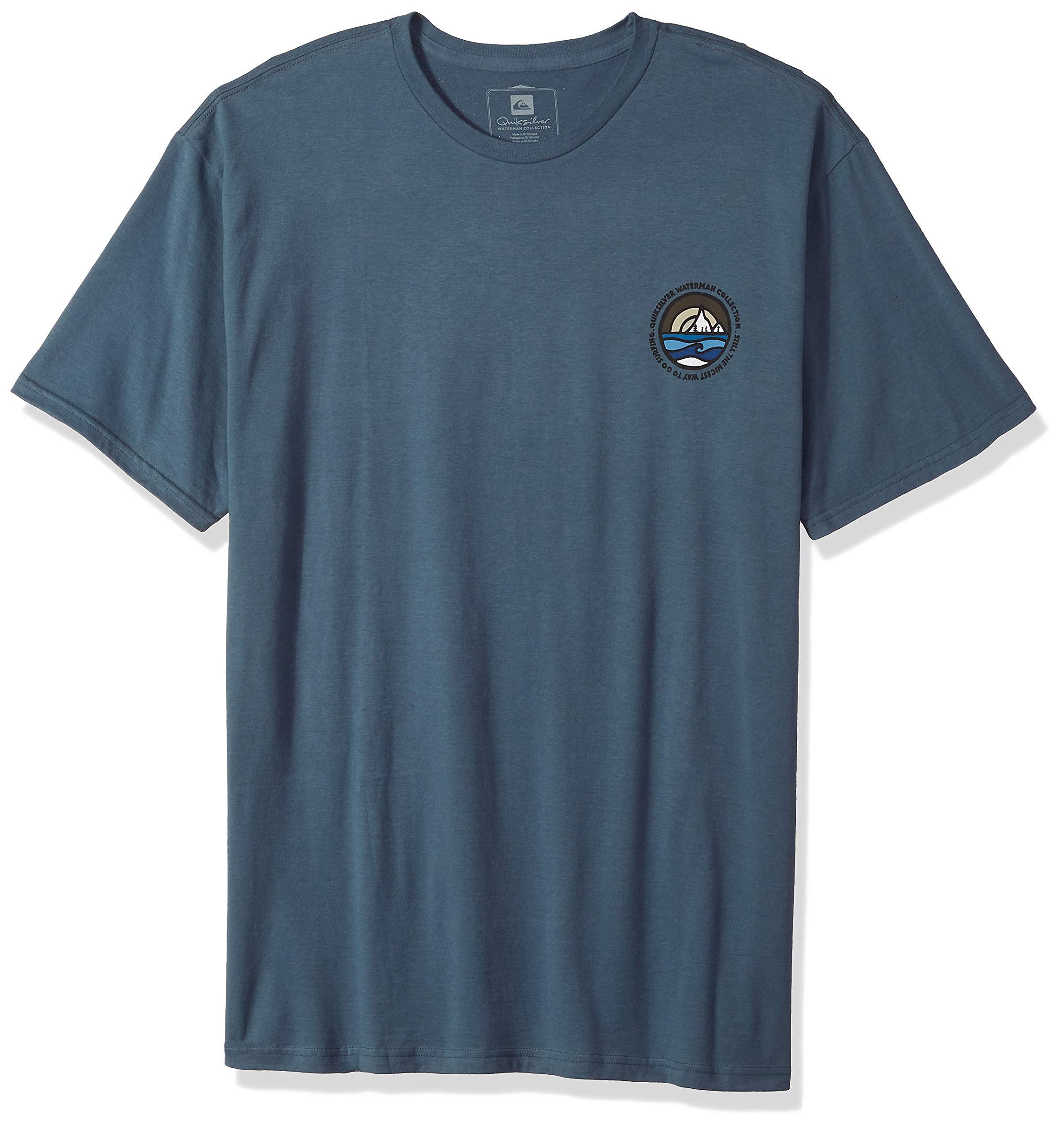 Quiksilver Men's Northwest TEE Shirt, Orion Blue, M
