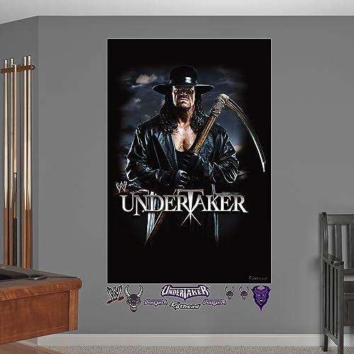 WWE Undertaker Sickle Mural