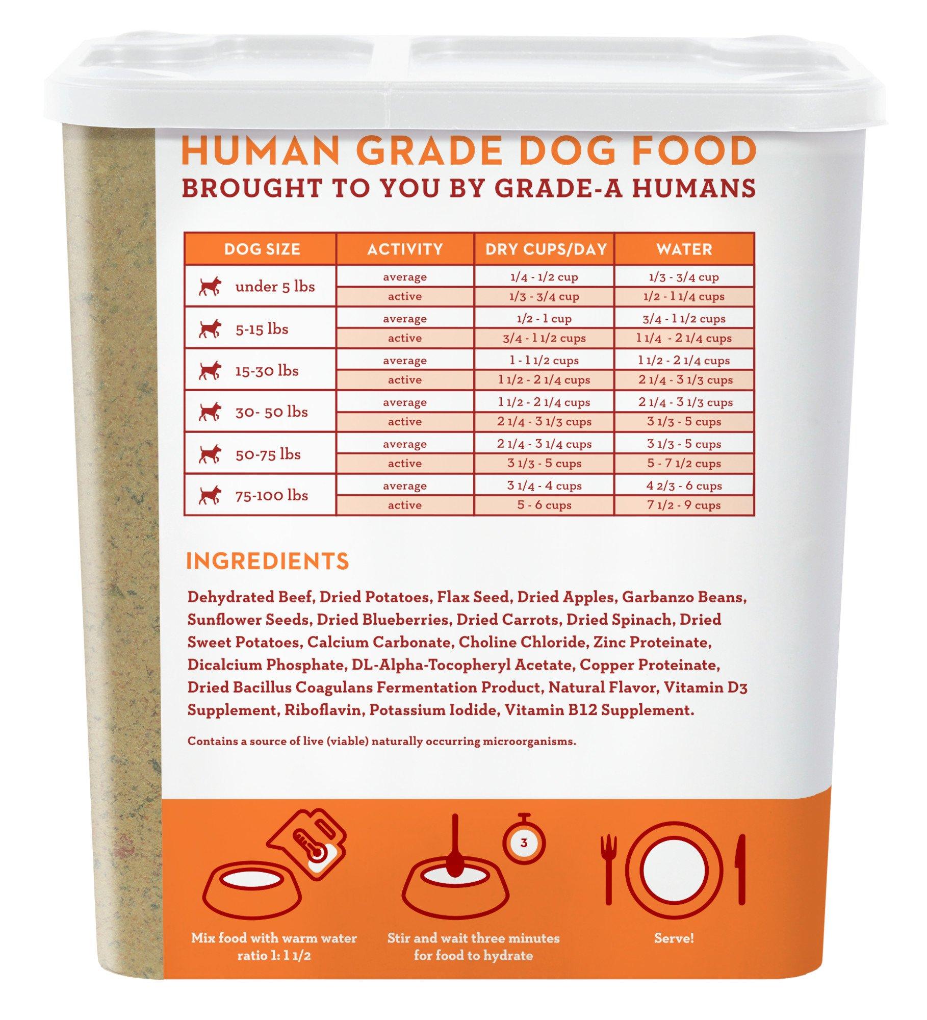 Spot Farms Human Grade Dog Food, Natural Dehydrated Dog Food 2