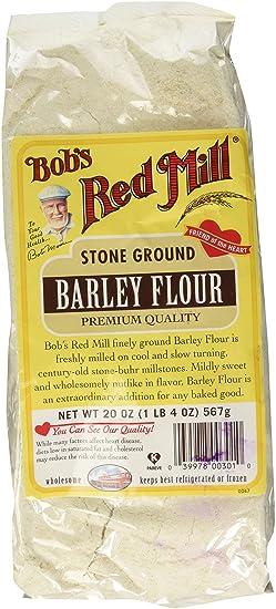 Amazon Com Bob S Red Mill Barley Flour 20 Ounce Grocery Gourmet Food