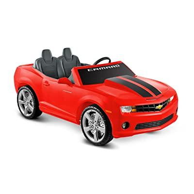Kid Motorz Cheverolet Racing Camaro 2 Seater, Red: Toys & Games