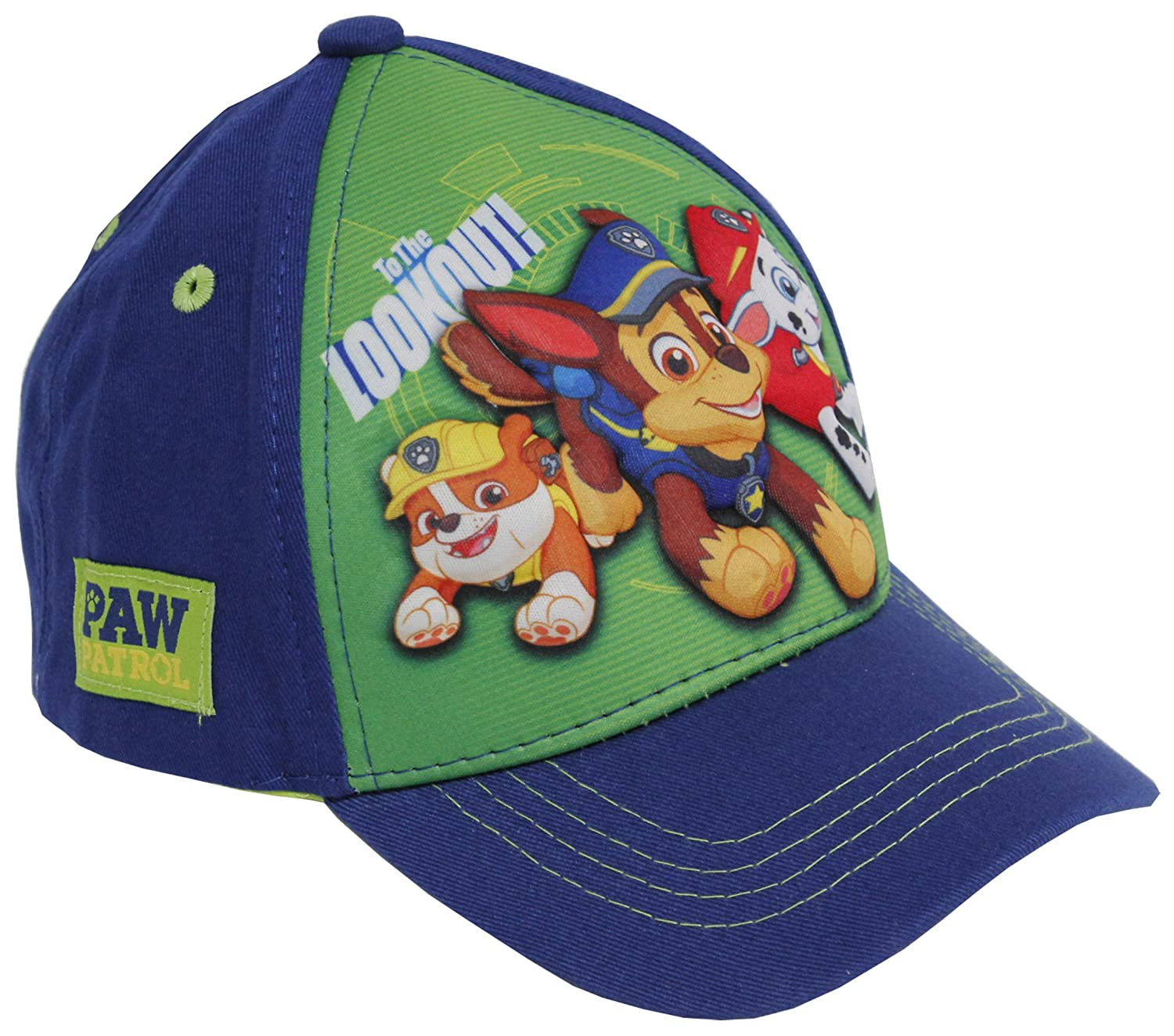 best cheap 95e2f 1af91 Blue Boys Baseball Cap ABG Accessories Nickelodeon Paw Patrol 3D POP to The  Lookout! Blue Boys Baseball Cap ABG Accessories ...