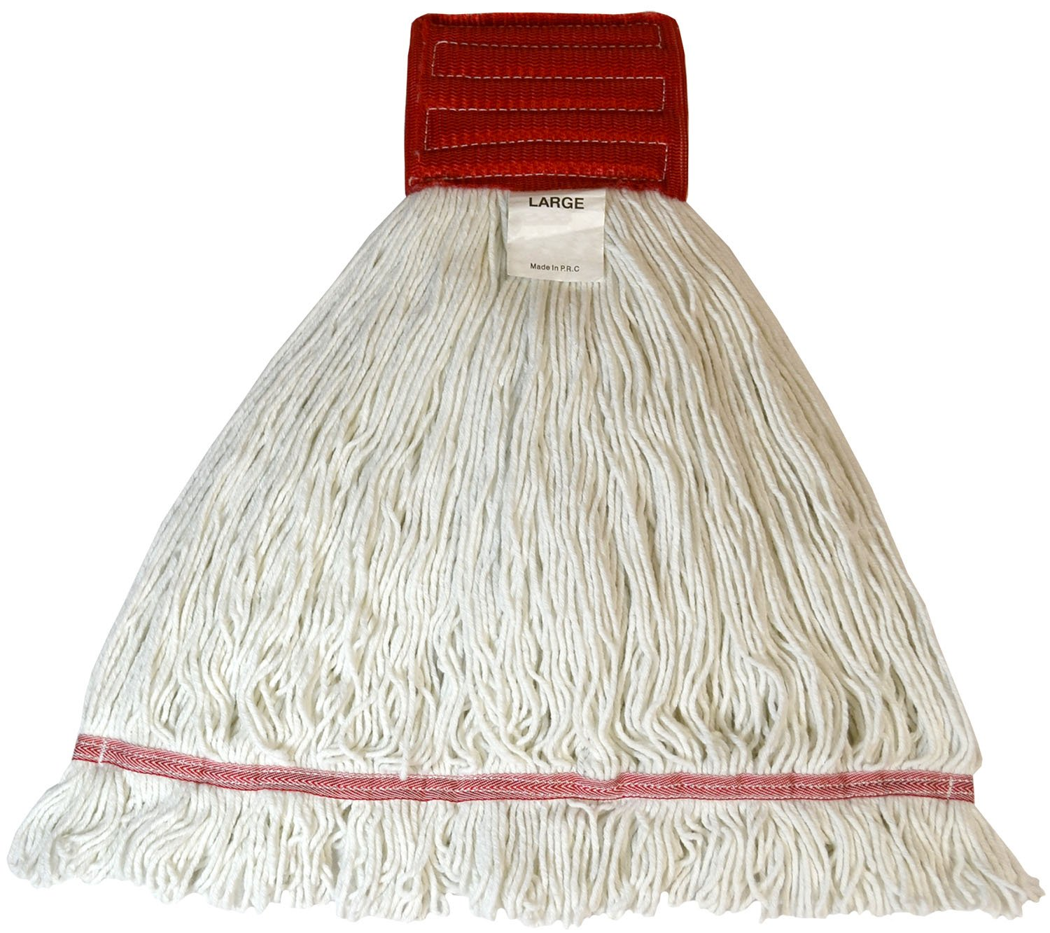 Pack of 12 Golden Star AWM31245 SNO-White Rayon Cut End Wet Mop