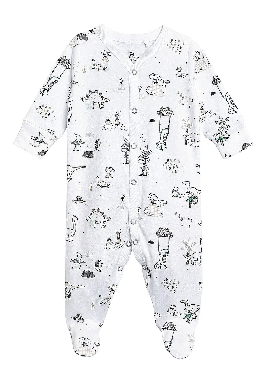 next Bebé-Niños Pack De Tres Pijamas Tipo Pelele De Dinosaurios (0 Meses - 2 Años): Amazon.es: Ropa y accesorios