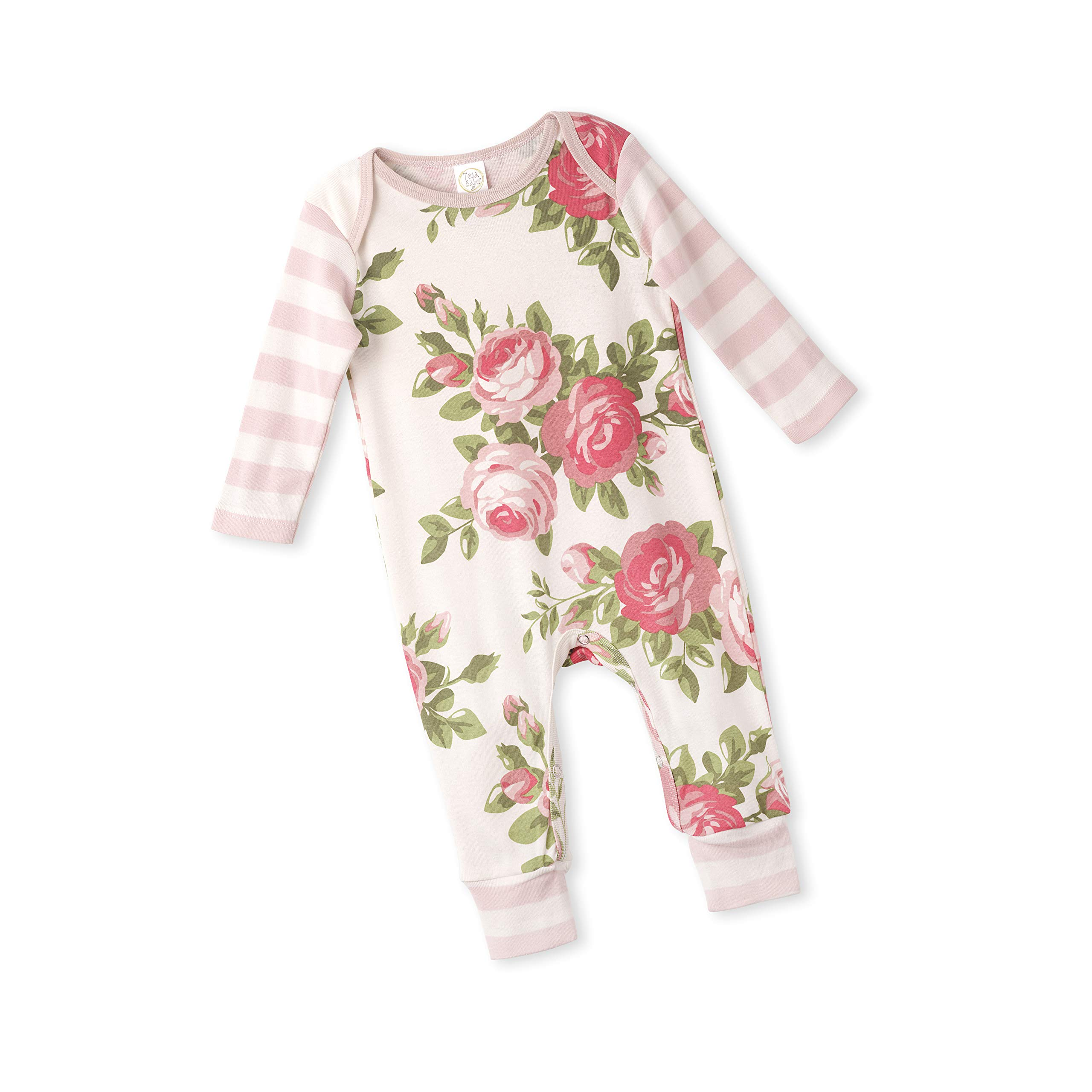 Tesa Babe Spring Summer Floral Romper for Newborns Baby Girls /& Toddlers Multi