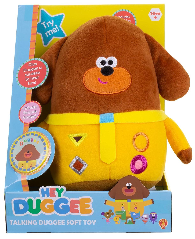 Hey Duggee Talking Soft Toy  Golden Bear Products Ltd  Amazon.co.uk  Toys    Games 8653bbc3da