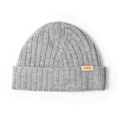 2d0a0147d6b751 melin Men's All Day Cashmere Beanie One Size Heather Grey at Amazon ...