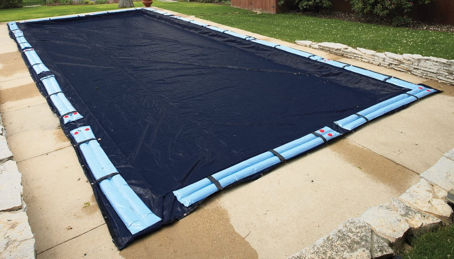 Arctic Armor Inground Swimming Pool Winter Cover - 8 Year Warranty - 30\' x  60\' Rectangle