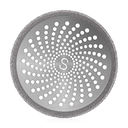 Amazon.com: STAN BOUTIQUE Shower Drain Hair Catcher/Strainer/Protector/Cover | Stainless Steel and Silicone, 4.7 Inches - Silver: Home & Kitchen