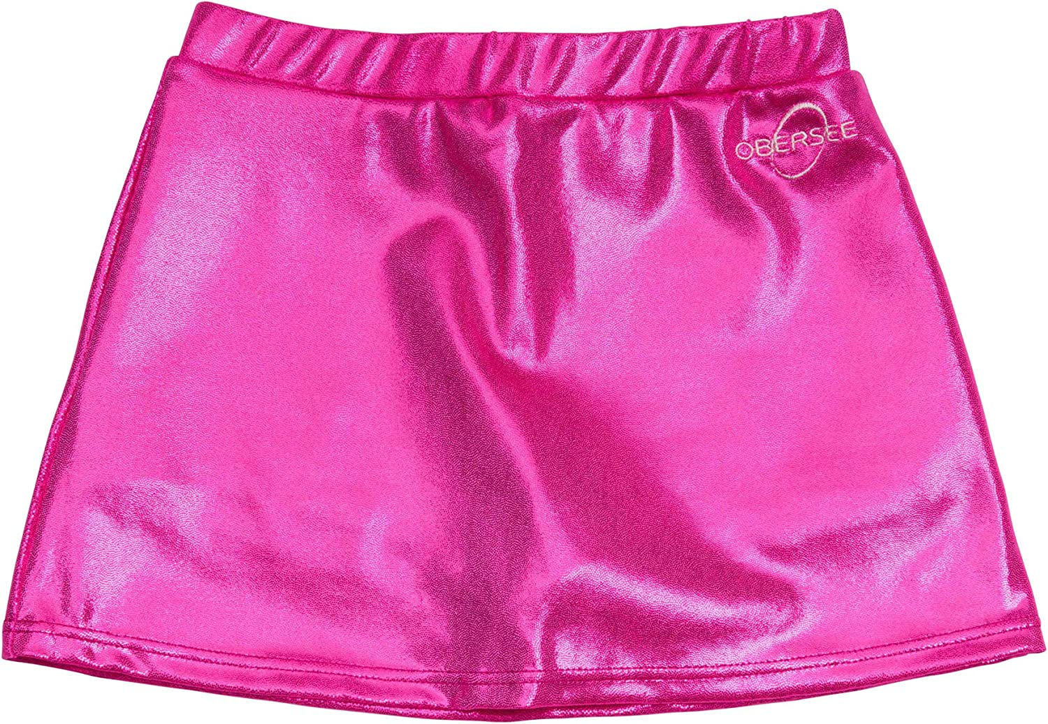 Pink L Obersee Girls 1 Cheer and Dance Skirt