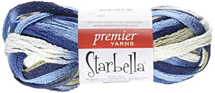 Amazon Com Premier Yarns Starbella Yarn Faded Jeans