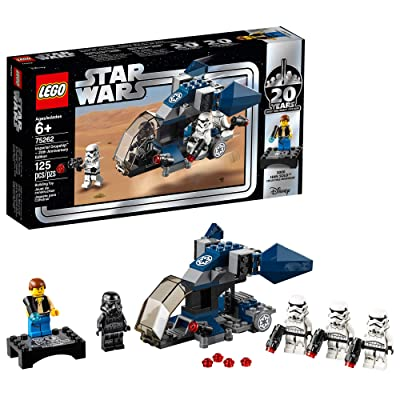 LEGO Star Wars Imperial Dropship – 20th Anniversary Edition 75262 Building Kit (125 Pieces): Toys & Games