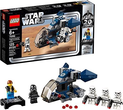 Original LEGO Star Wars limited edition 6 pcs polybag set with minifigure #Set2