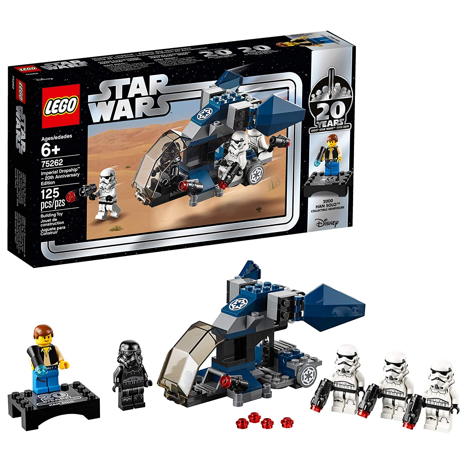 LEGO Star Wars Imperial Dropship – 20th Anniversary Edition 75262 Building  Kit, New 2019 (125 Pieces)