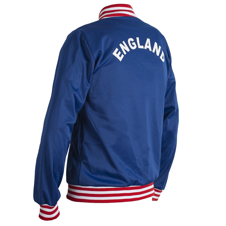 England 1966 Retro Football Jacket Classic Vintage Tracksuit Jumper Man Top-Replica