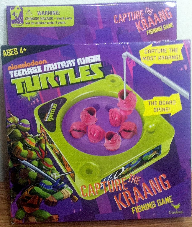 Nickelodeon Teenage Mutant Ninja Turtles Capture The Kraang Fishing Game