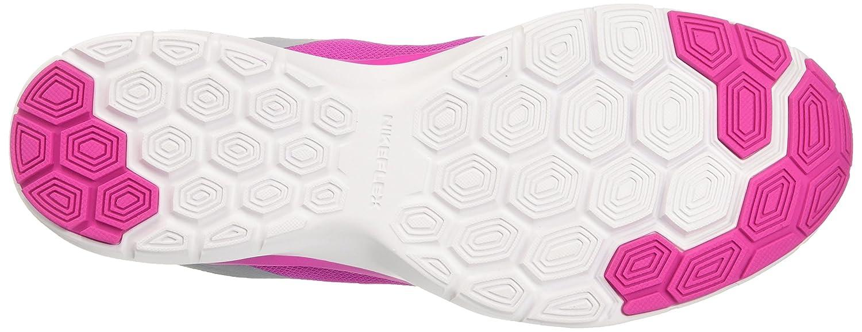 NIKE Women's Flex Trainer 6 B01DL3JAIA 6.5 B(M) US|Pure Platinum/White/Fire Pink/Wolf Grey