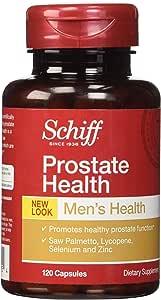 Schiff Prostate Health Formula - Saw Palmetto, Lycopene & Selenium, 120 Capsules