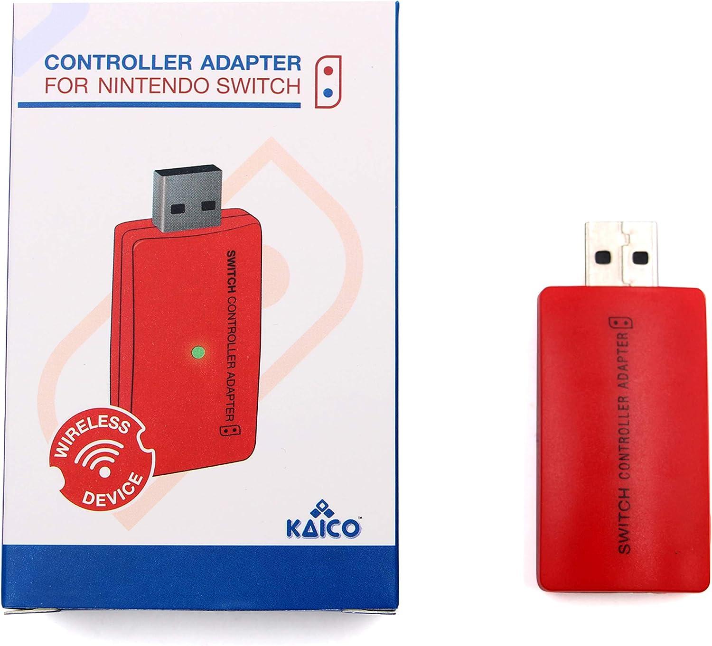 Interruptor de Nintendo Adaptador de mando Bluetooth inalámbrico ...