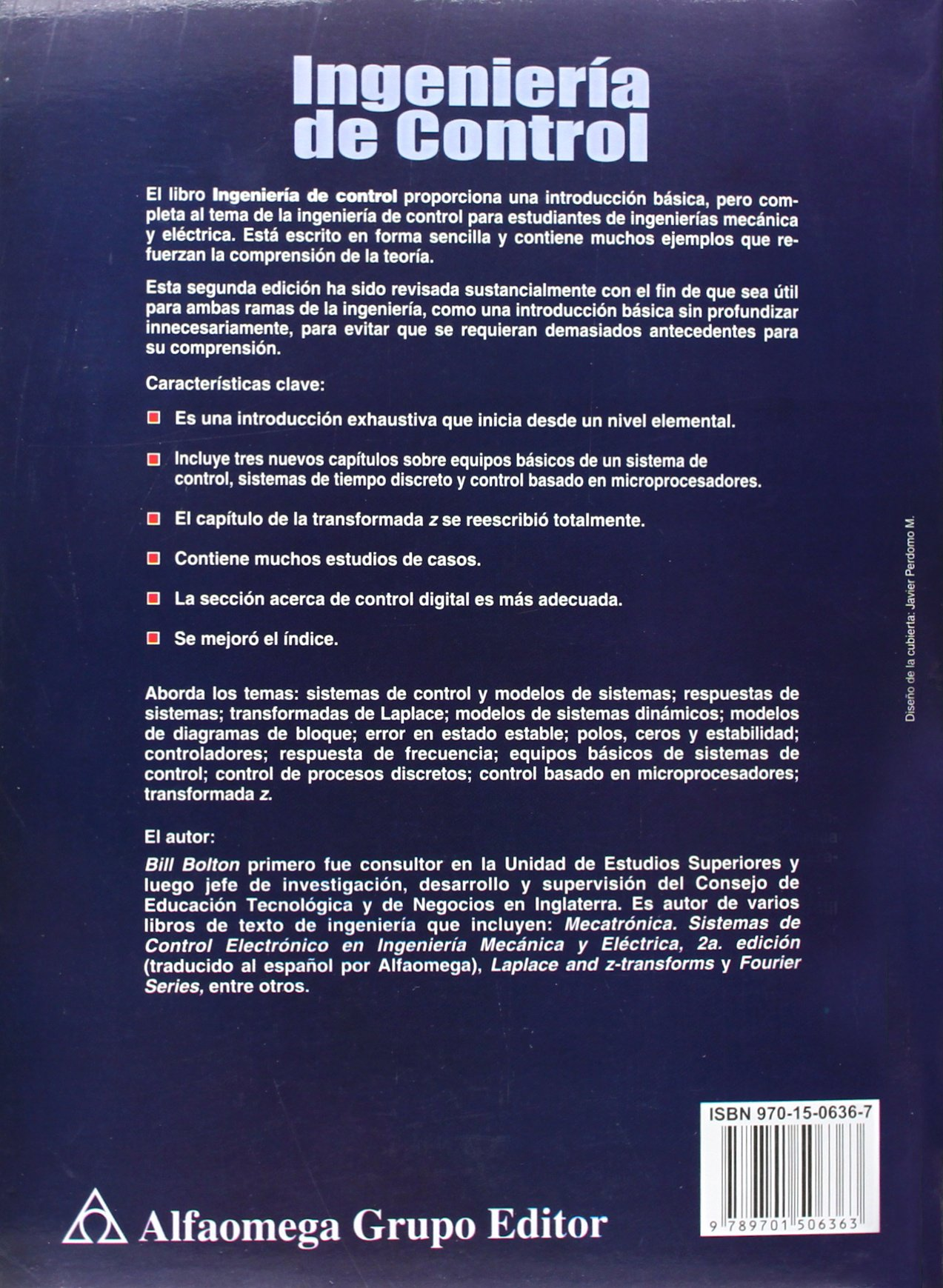 Ingenieria de Control - 2b: Edicion (Spanish Edition): W. Bolton: 9789701506363: Amazon.com: Books