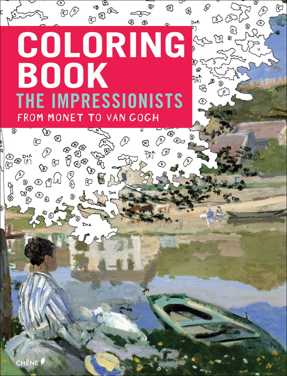 Impressionists Monet Gogh Coloring Books product image