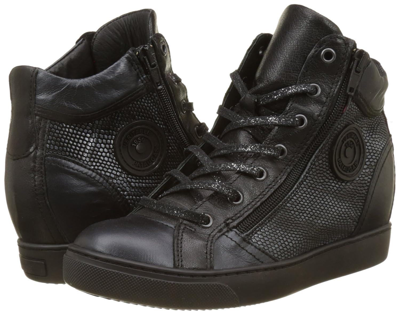 La mode Baskets compensées cuir kay noir PATAUGAS en ligne