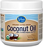 Viva Labs Organic Extra Virgin Coconut Oil, 32 Ounce