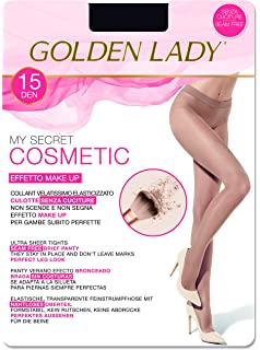 3er Pack 20 DEN Goldenlady Damen Halterlose Str/ümpfe