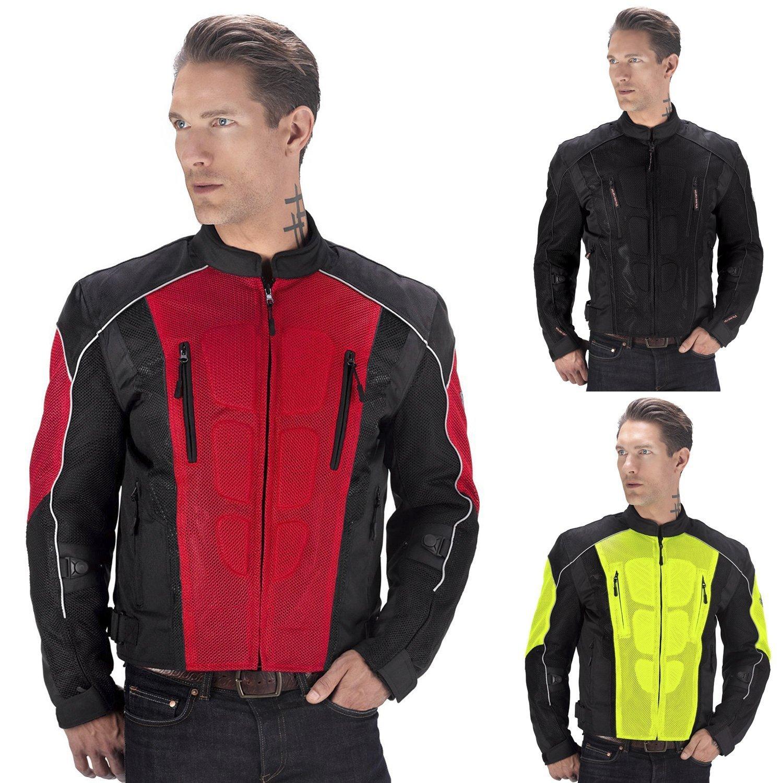 Viking Cycle Warlock Motorcycle Mesh Jacket Men
