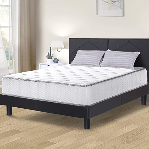 Olee Sleep 10 Inch Milky way Tight Top Hybrid Spring Mattress