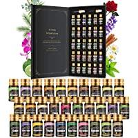 Aceites esenciales - Aceites esenciales de grado terapéutico, aceites esenciales 100% naturales, perfecto para difusor…