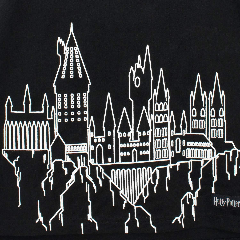 HARRY POTTER Camiseta de Manga Corta para ni/ños Hogwarts