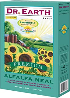 product image for Dr. Earth Pure & Natural Organic Alfalfa Meal Plant Food 3 lb.