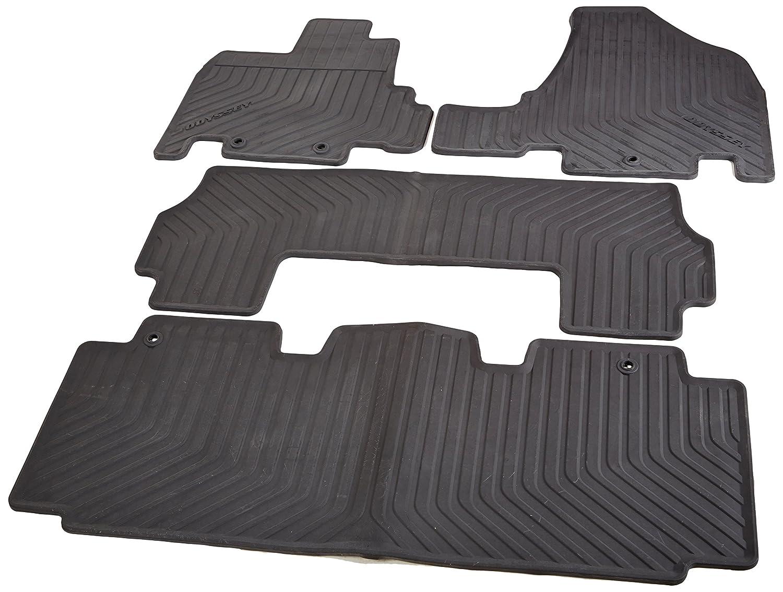 Floor mats odyssey - Amazon Com Honda All Season Floor Mats For 08p13 Tk8 110 Black Automotive