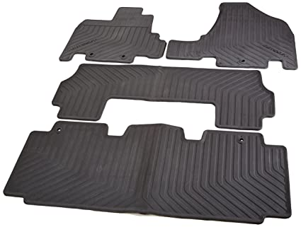 Honda All Season Floor Mats For 08P13 TK8 110 (Black)
