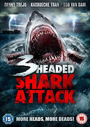 3 Headed Shark Dvd