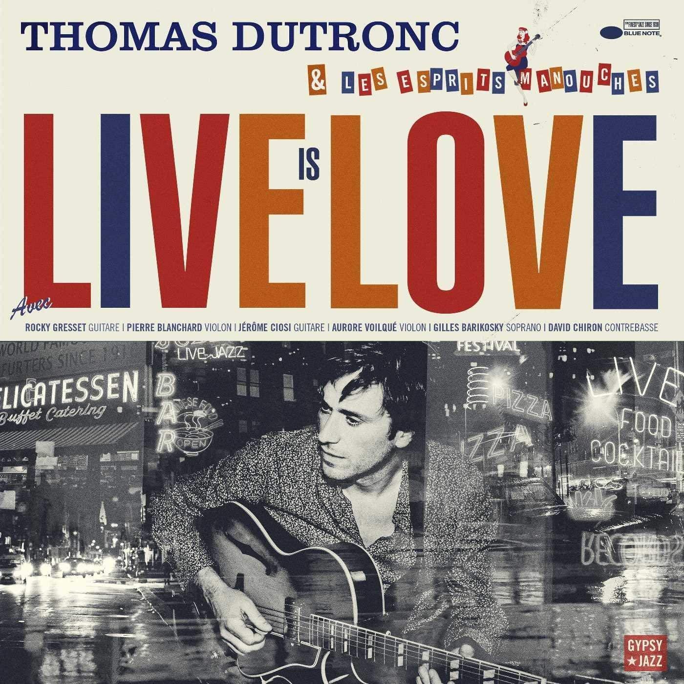 Vinilo : Thomas Dutronc - Live Is Love (France - Import)