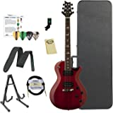Paul Reed Smith Guitars 245STVC-Kit02 PRS SE 245 Standard Vintage Cherry Electric Guitar with ChromaCast Hard Case & Accessories