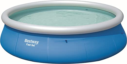 Bestway Fast Set Pool 396 x 84 cm, Hinchable Piscina sobre Suelo ...