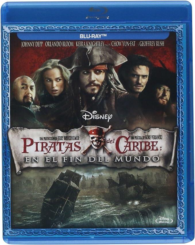 Piratas Del Caribe 3 En El Fin Del Mundo Blu Ray Mx Música