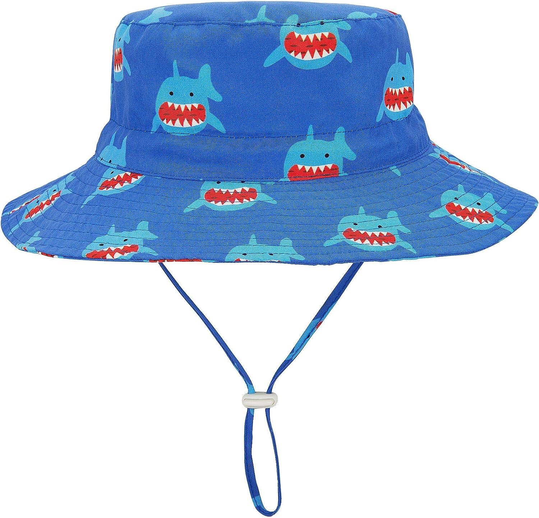 Baby Sun Hat Summer Beach Hat Bucket Cap Newborn Toddler Kids Boy Girl Y