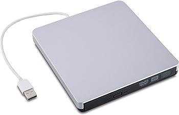 Yinenn USB 3.0 External DVD Burner