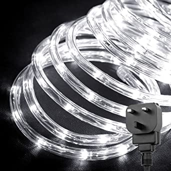 Le outdoor led rope lights kit 10m 240 leds waterproof strip lights le outdoor led rope lights kit 10m 240 leds waterproof strip lights 24v mozeypictures Images